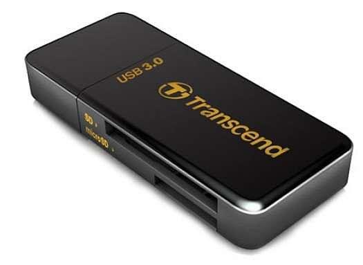 Transcend Card reader USB 3.0 SD/MicroSD SDHC SDXC ( TS-RDF5K )