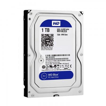 WD 1TB 3.5 SATA III 64MB WD10EZEX Caviar Blue
