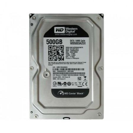 WD 500GB 3.5 SATA III-600 WD5003AZEX Caviar Black