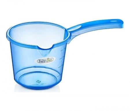 Babyjem  bokal za kupanje beba - blue transparent ( 92-13327 )
