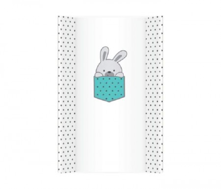 Klups Meka podloga za presvlacenje little bunnies blue - 70cm ( PM70/340 )