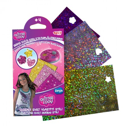 Glitter Locks šljokice ( 23-711000 )