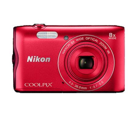 Nikon A300 Digitalni foto-aparat Crveni ( 81188 )