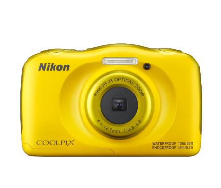 Nikon W100 Digitalni foto-aparat  set sa rancem Žuti ( 81237 )