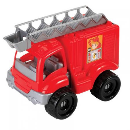 Dede kamion vatrogasac sa kockama ( 014365 )