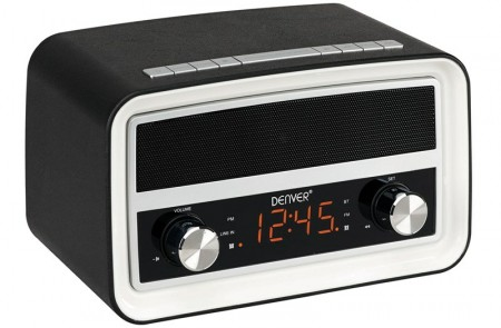 Denver CRB-619 crni radio alarm ( 30300 )