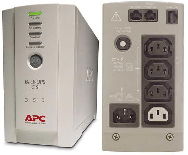 APC UPS BK500EI Back-UPS CS 500VA