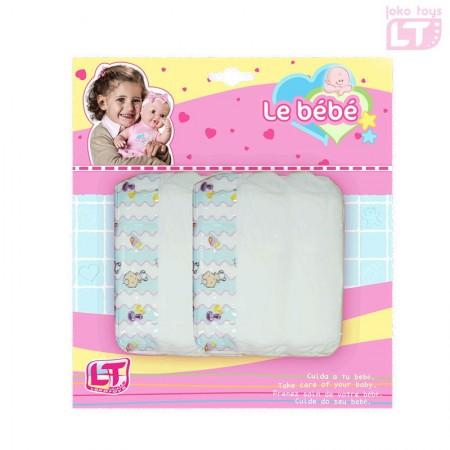 Loko toys igračka pelene za lutke ( 6660059 )