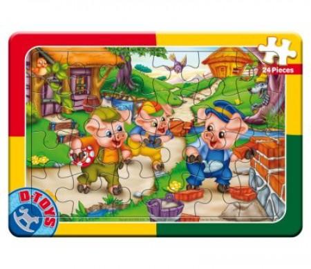 Puzzle 24 PCS  FAIRY TALES 10 ( 07/50564-10 )