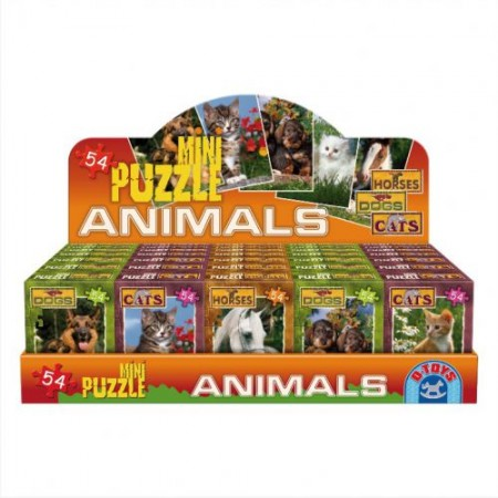 MiniPuzzle 54PCS ANIMAL 1/40 ( 07/50199 )
