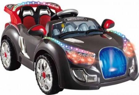 SuperSport Auto na akumulator za decu sa daljinskim upravljačem - crni ( 11-7788R2 )
