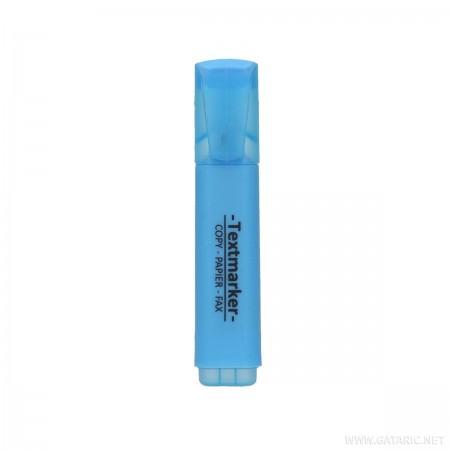 Tekst marker, kosi vrh, plavi ( GT035579 )