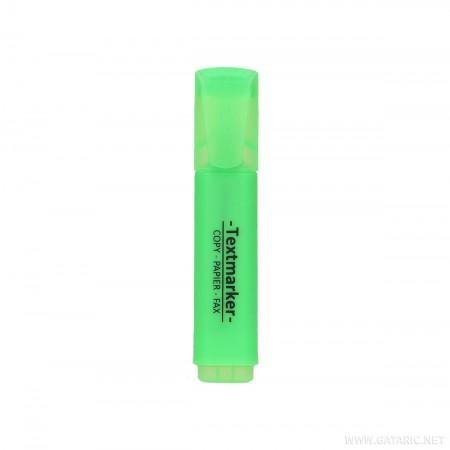 Tekst marker, kosi vrh, zeleni ( GT035586 )