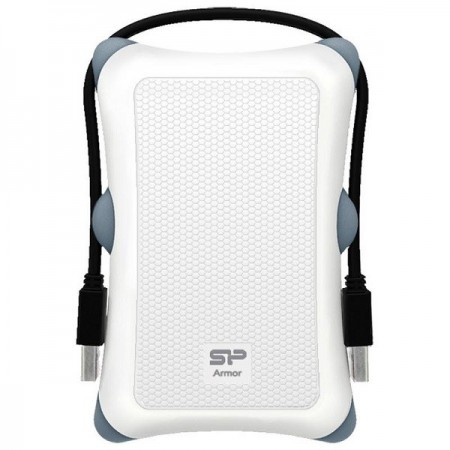 Silicon Power Armor A30 2.5 enclosure USB 3.0 white shockproof ( RACKA30W/Z )