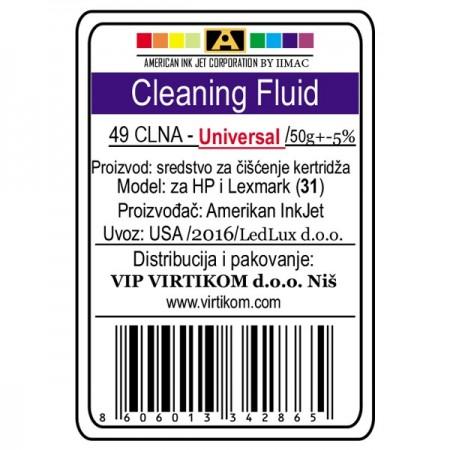 American Inkjet Univerzalna tečnost za čišćenje kertridža 49CLNA ( 31/Z )