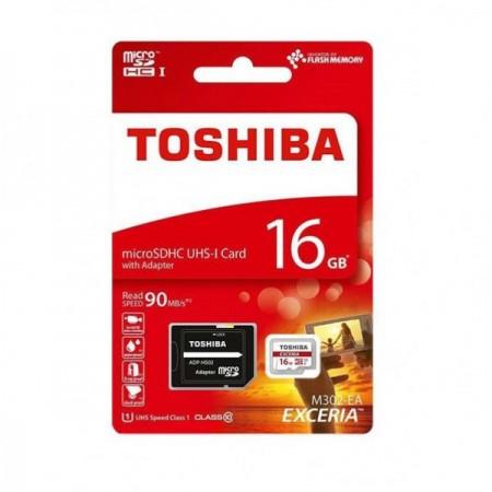 Toshiba 16GB MicroSDHC M302 Class10 UHS I U1 sa adapterom ( MCT16G10A/Z )