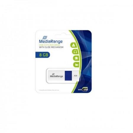 MediaRange 8GB USB2.0 color edition blue Fleš memorija ( UFMR971/Z )