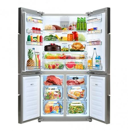 Vox SBS 6305 IX Side by side frižider