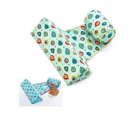 Babyjem  jastuk za bebe - za pravilan položaj bebe svetlo plavi ( 92-23654 )