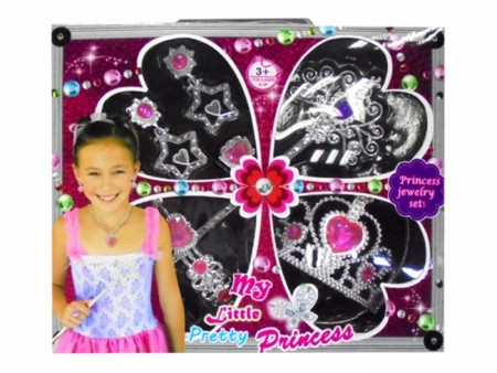 Hk Mini igračka set nakit za devojčice sa krunicom ( 6180131 )