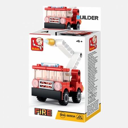 Sluban kocke vatrogasac 43kom ( 6880544 )