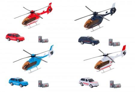 WToy Set za igru helikopter i auto ( GLO38151 )