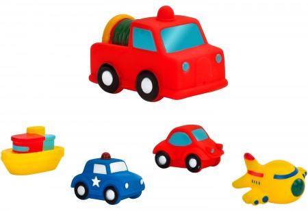 Vitamina Igračka za kupanje gumena vozila ( GLO36371 )