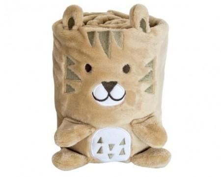 Kikka Boo Bebi ćebence 3d Leo ( 31103020021 )