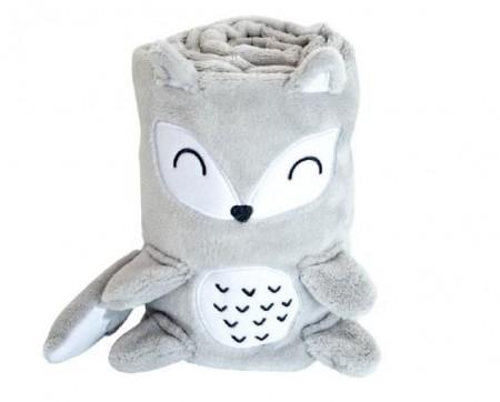 Kikka Boo Bebi ćebence 3d Fox ( 31103020020 )