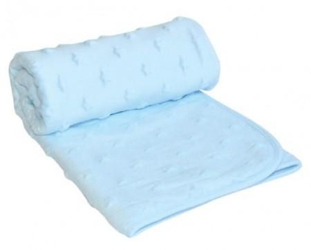 Kikka Boo Bebi ćebence Stars blue ( 31103020017 )