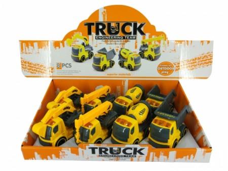 HK Mini igračka građeviski kamiončić (tp 8kom) ( 6600359 )