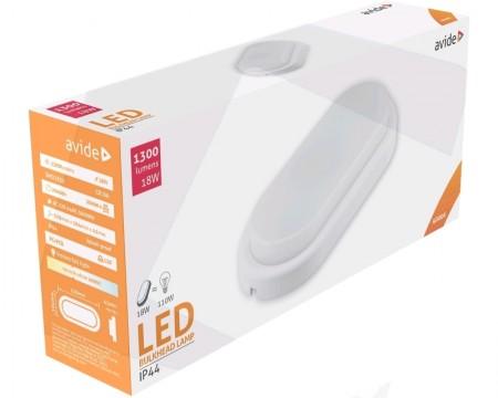 Avide ABBHL-O-18W-NW 18W 4000k (1300lumen) lampa