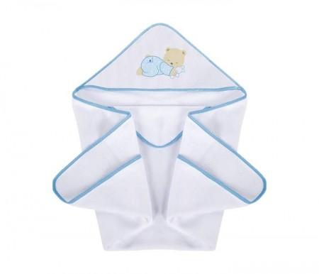Klups Peškir za bebe 100x100cm - sweet dreams blue ( K315T )