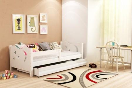 Elegant Krevet za decu 160*80 cm White - Beli + Dušek ( elegantwhite01 )
