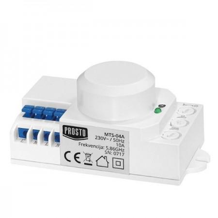 Prosto Senzor pokreta mikrotalasni 360* max1200W 230V ( DETMTS04A/Z )