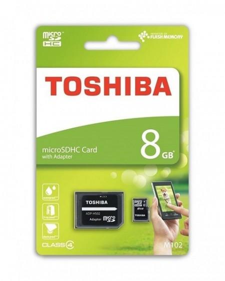 Toshiba 8GB MicroSDHC M102 class4 sa adapterom ( MCT8GA/Z )
