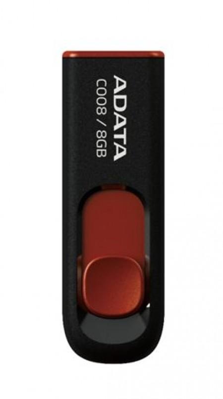 AData 8GB AC008-8G-RKD Black