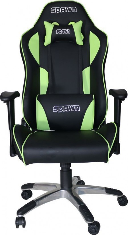Gaming Chair Spawn CP-BG1B Green/Black ( 029044 )