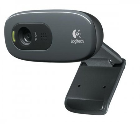 Logitech C270 HD Black W10 WebCam