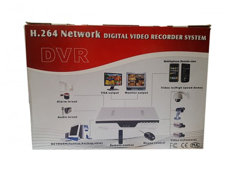 DVR 6308S-8 ch Digital video recorder