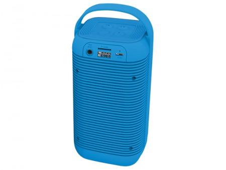 Xwave B POWER TULL BT/FM/HiFi/MicroSD plavi zvučnik