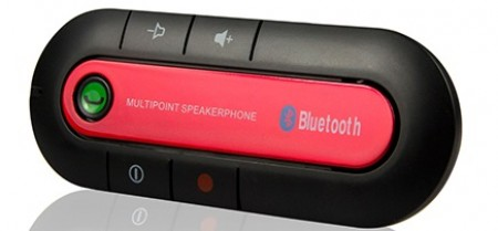 Yet C4.1 Red Bluetooth handsfree - speakerphon set za automobil