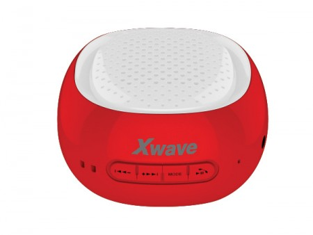 Xwave B COOL BT/FM/USB/MicroSD crveno-beli zvučnici
