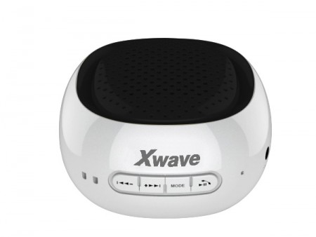 Xwave B COOL BT/FM/USB/MicroSD belo-crni zvučnici