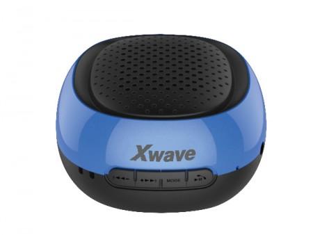 Xwave B COOL BT/FM/USB/MicroSD crno-plavi zvučnici
