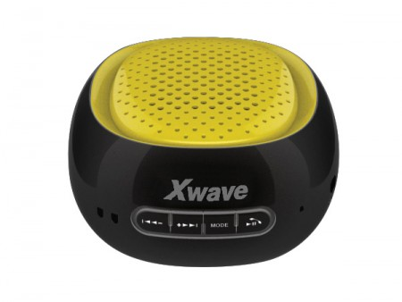 Xwave B COOL BT/FM/USB/MicroSD crno-žuti zvučnici