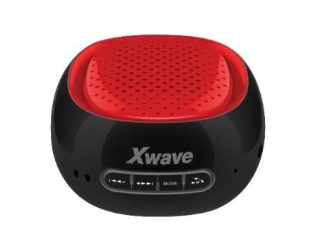 Xwave B COOL BT/FM/USB/MicroSD crno-crveni zvučnici