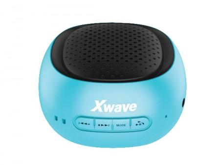 Xwave B COOL BT/FM/USB/MicroSD plavo-crni zvučnici