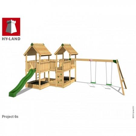 Hy-Land Javno igralište - Projekat 6 sa ljuljaškama