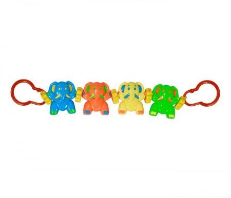 Lorelli Bertoni Igračka za kolica niz - happy elephants ( 10210740003 )